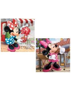 Fata de perna copii, Minnie Mouse, 40 x 40 cm