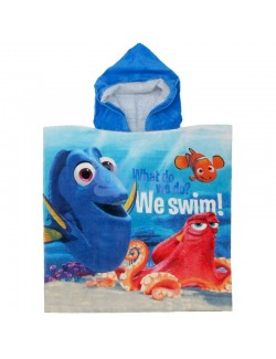 "Prosop poncho, Disney Dory & Nemo ""We swim!"""