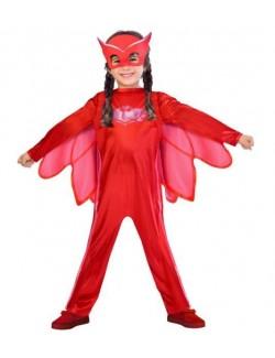 Costum Bufnita PJ Masks clasic, copii 3/4 si 7/8 ani
