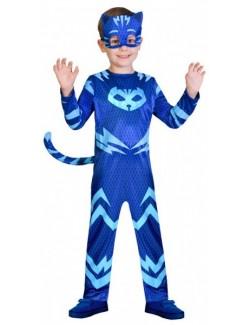 Costum Pisoi PJ Masks clasic, copii 3 - 8 ani