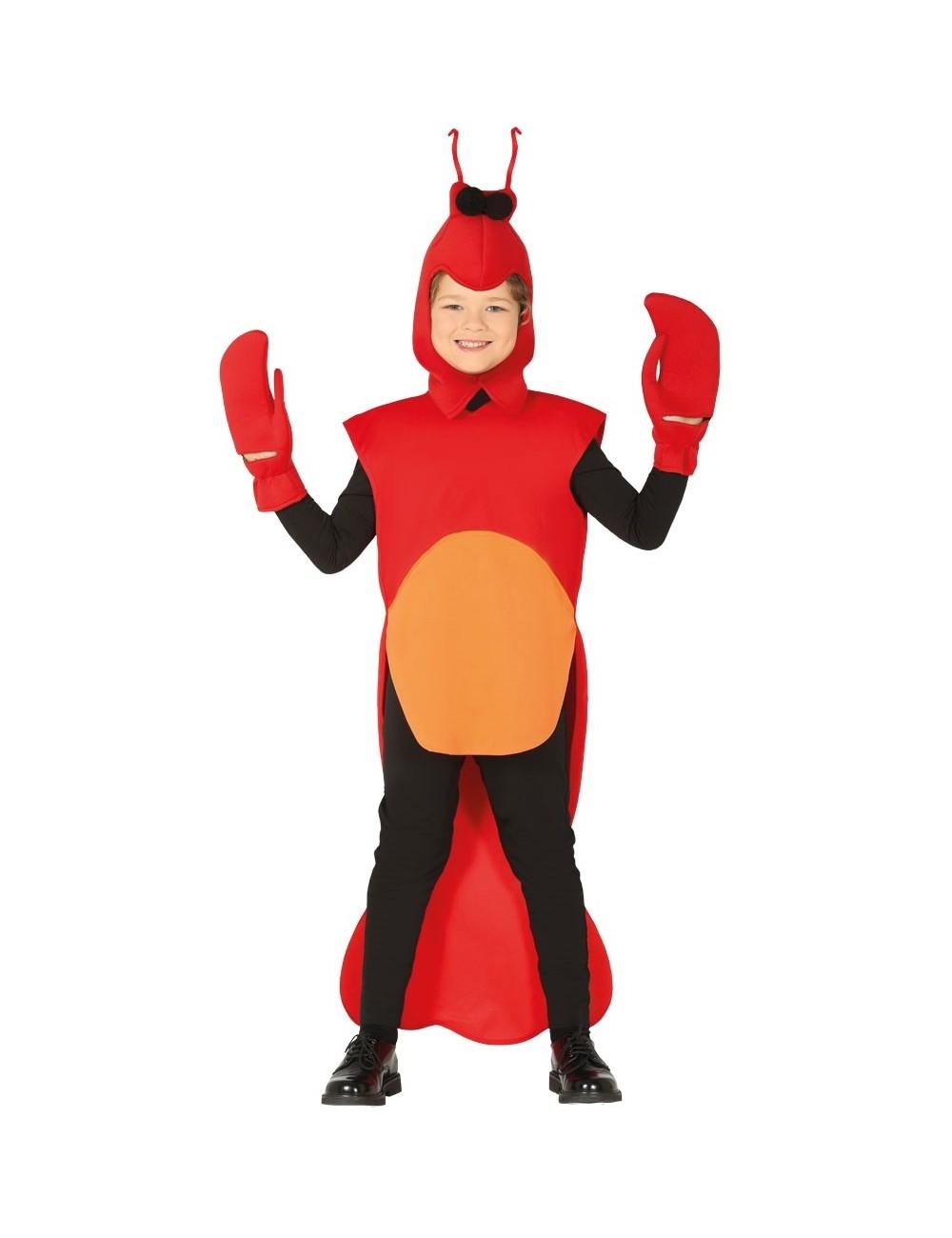 Costum Crab, copii 3-6 ani