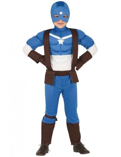 Costum copii, Captain Super star, 8-14 ani