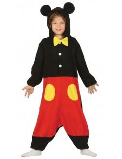 Costum pijama salopeta Little Mouse, copii 5-7 ani