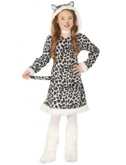 Costum Leopard fete 5 - 12 ani