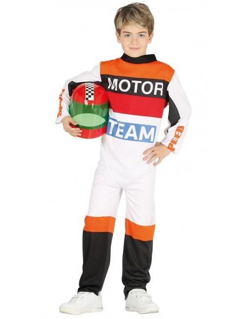 Costum Pilot curse - Formula 1, copii 6 - 12 ani