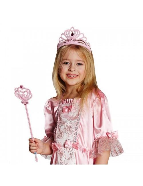 Diadema Printesa, culoare roz
