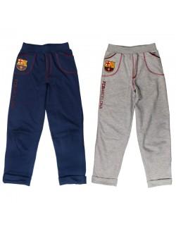 Pantaloni sport FC Barcelona, baieti 8 - 14 ani