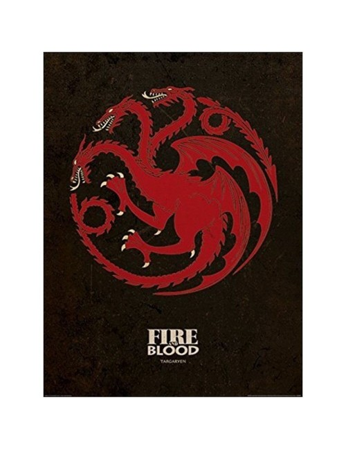Poster - Art print - Game of Thrones Targaryen, 60x80 cm