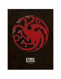Poster - Art print - Game of Thrones Targaryen, 60x80 cm