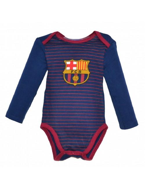 Body bebelusi, FC Barcelona. 3-24 luni, bleumarin