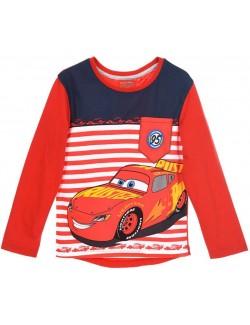 Bluza copii, Disney Cars, rosie, 3 - 8 ani