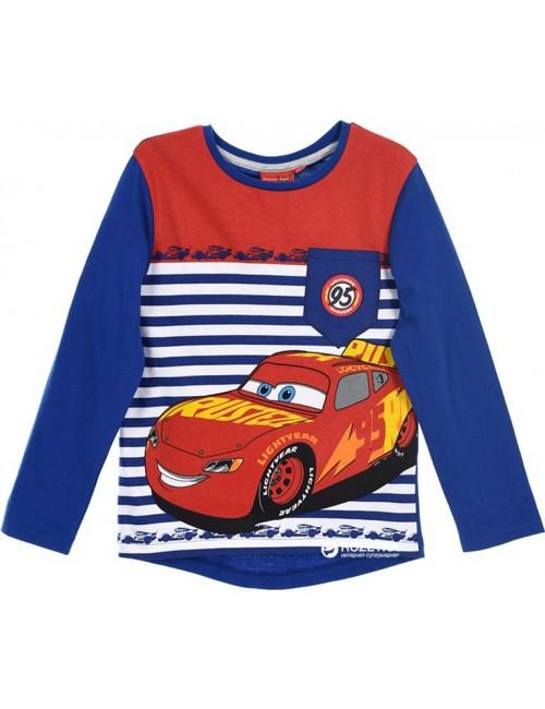 Bluza copii, Disney Cars, 3 - 8  ani, albastra