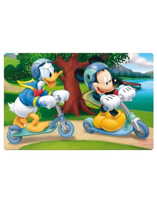 Suport protectie masa / birou, Mickey & Donald, 42 cm