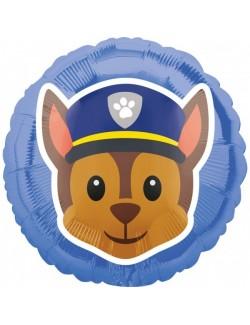 Balon folie, Chase Paw Patrol, 43 cm