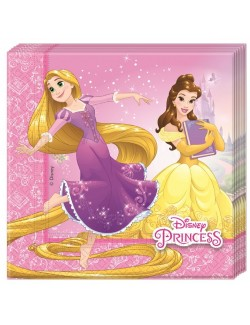 Set 20 servetele Printese Disney, 33 x 33 cm
