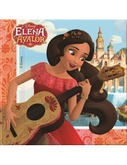Set 20 servetele Elena din Avalor, 33 x 33 cm