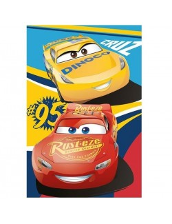 Paturica Disney Cars, 100 x 150 cm, polar fleece