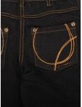 Pantaloni Emoi fete - jeans skinny, negri, 128 - 168 cm