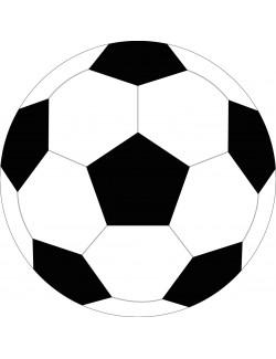 Perna decor, Minge fotbal, 34 cm