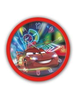 Ceas de perete, rotund, Disney Cars, 25 cm