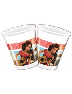 Set 8 pahare party, Elena din Avalor, 200 ml