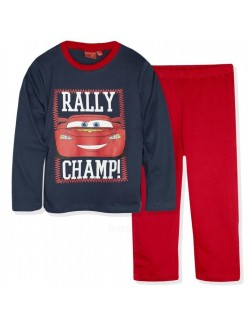 Pijama Disney Cars - Rally Champ, copii 3-8 ani