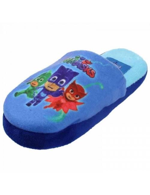 Papuci de casa copii, Eroi in pijamale, 23-30, albastru