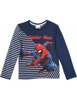 Bluza copii, Spiderman, 3-8 ani, bleumarin