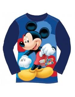 Bluza Mickey Mouse, copii 2-6 ani, bleumarin