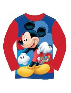Bluza Mickey Mouse, copii 2-6 ani, rosie