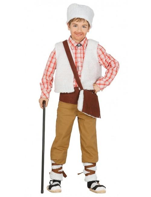 Costum serbare Pastor, 5 piese, copii 5-9 ani