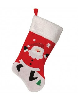 Ciorap pentru cadouri 46 cm, Mos Craciun
