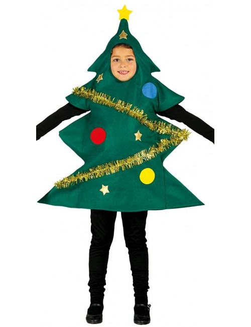 Costum Brad de Craciun, copii 5-9 ani