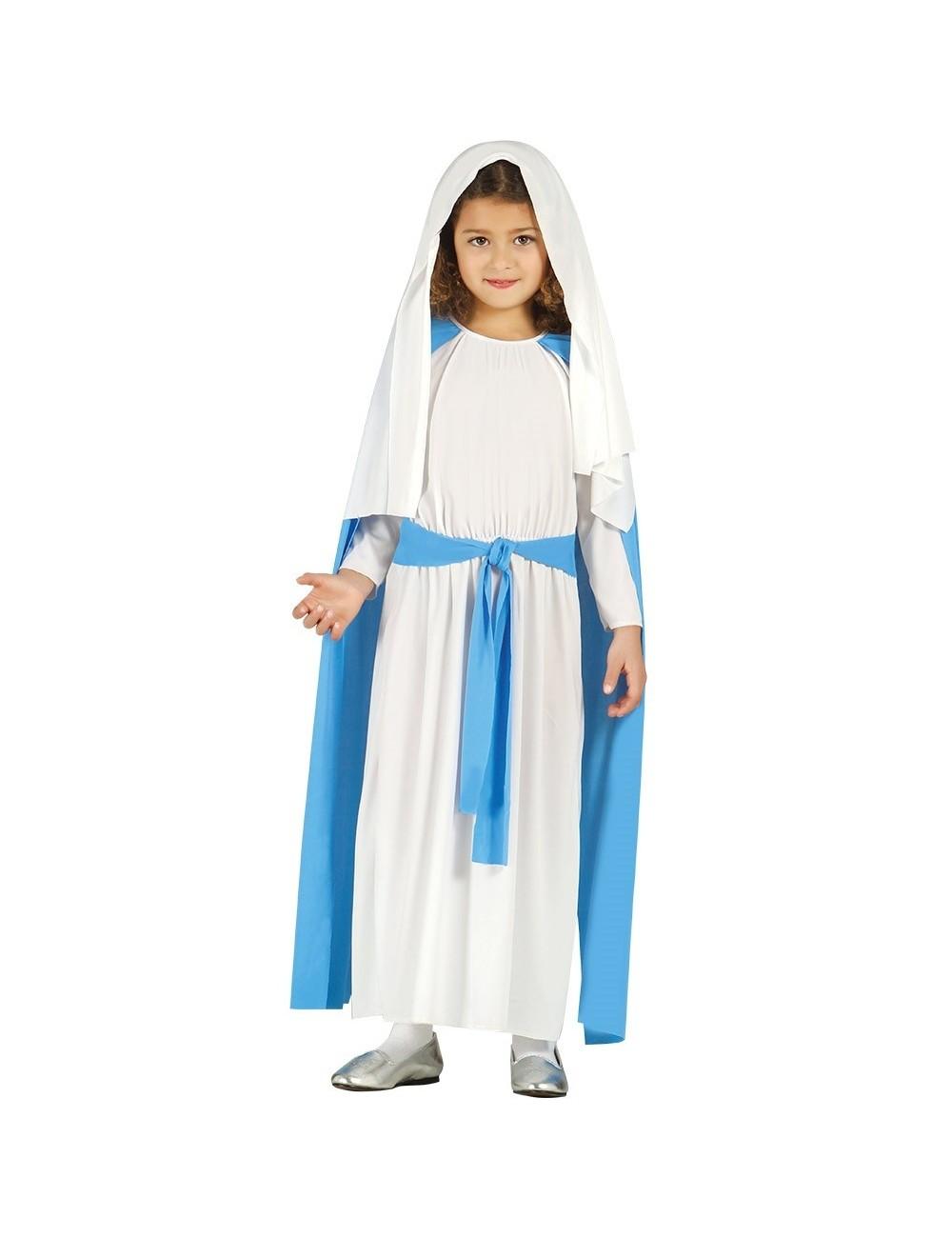 Costum serbare Fecioara Maria, copii 3-4 ani
