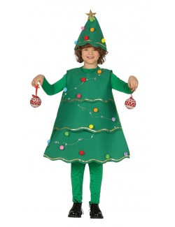 Costum Brad Craciun cu leduri, copii 5-9 ani