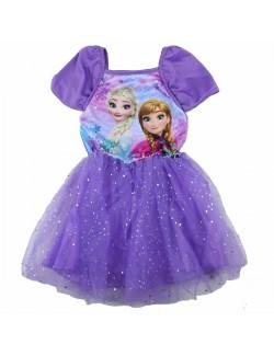 Rochie tutu, Disney Frozen, mov, 4-9 ani