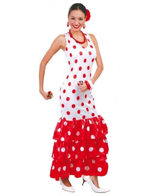 Rochie spaniola femei / Dansatoare flamenco