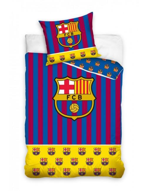 Lenjerie de pat FC Barcelona, 140 x 200 cm