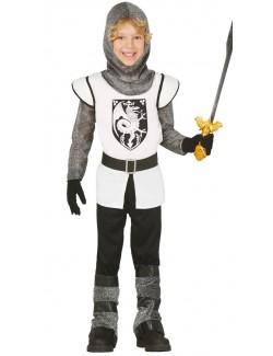 Costum Cavaler medieval, copii 3 - 9 ani