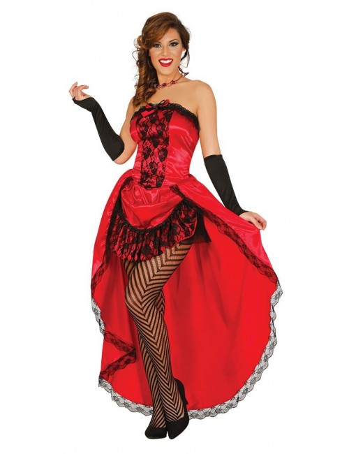 Costum Burlesque / Rochie Can-can femei, 36-44