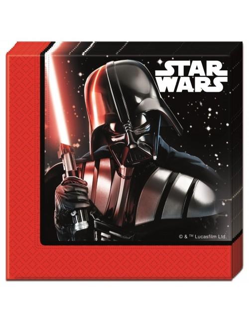 Set 20 servetele, Star Wars - Darth Vader, 33 cm