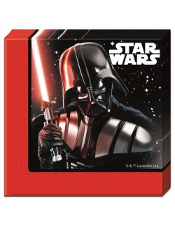 Set 20 servetele, Star Wars - Darth Vader, 33 cm