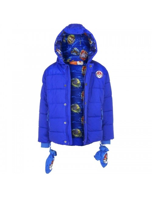 Jacheta iarna Paw Patrol 3-6 ani, albastra