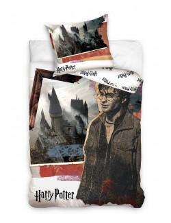 Lenjerie de pat, Harry Potter Castel Hogwarts, 140 x 200 cm