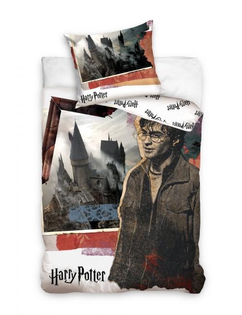 Lenjerie pat, Harry Potter Castel, 160 x 200 cm
