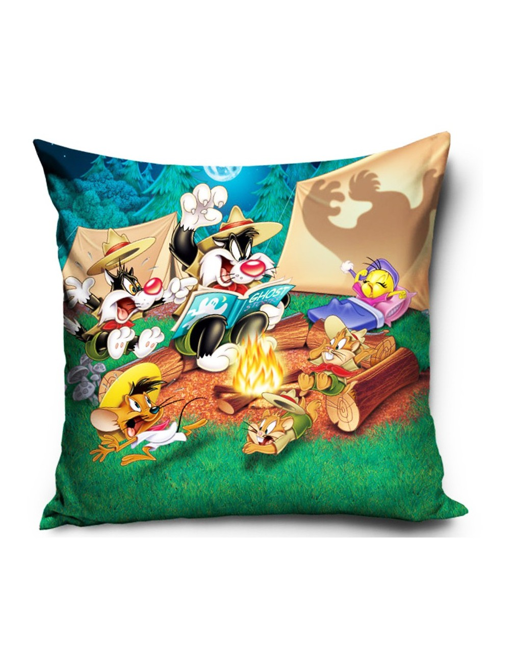 Fata de perna Looney Tunes, 40 x 40 cm