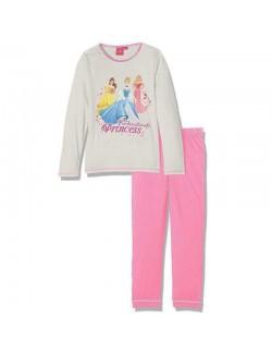 Pijama Printese Disney: Cenusareasa, Belle & Aurora 3-6 ani