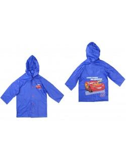 Haina ploaie Disney Cars, 98 - 128 cm, albastra