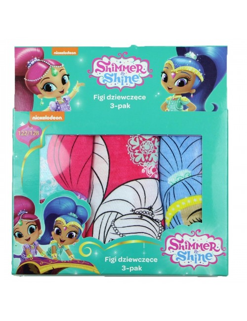 Set 3 chiloti Shimmer si Shine, fete 3 - 8 ani