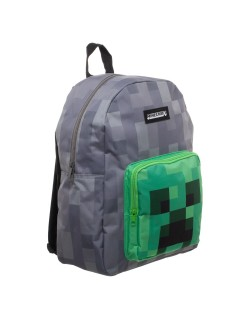 Ghiozdan Minecraft Creeper, Bioworld, 40 cm